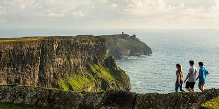 The Cliffs of Mohar feature in CIE's Irish Legends Tour