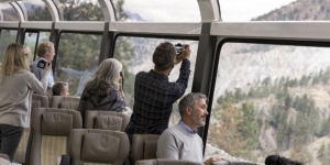 US route for Rocky Mountaineer
