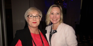 Kiwi exhibitors at Luxperience in Sydney this week… Ann Gregor-Greene, Peppers on the Point; Louise Frend, Unique Stays and Experiences