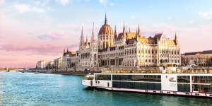Viking river cruise in Budapest