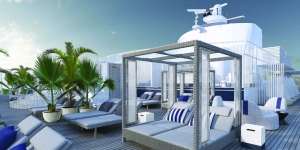 The Retreat Sanctuary for Celebrity Cruises' suite guests