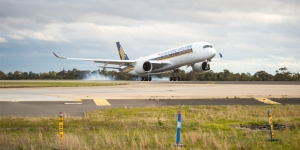 Christchurch will see Singapore Airlines' A350 early next year